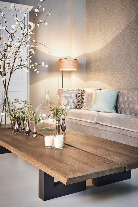 Decoraci n de salas de estar con papel tapiz 17 for Decoracion de salas 2017