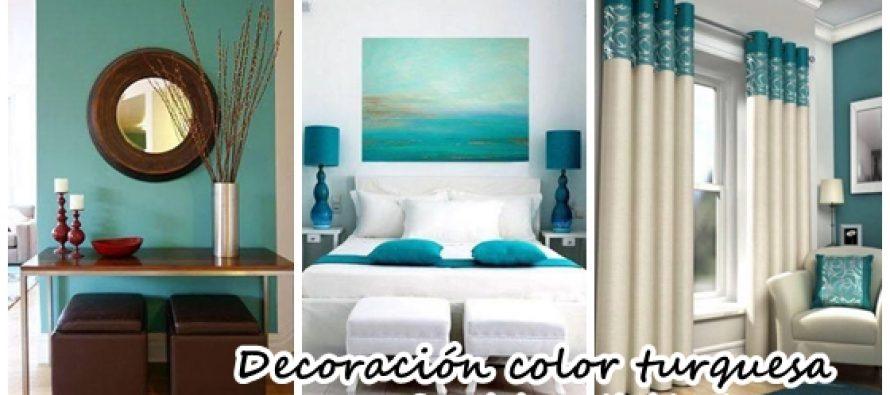 Decoración para tu hogar en tonos turquesa
