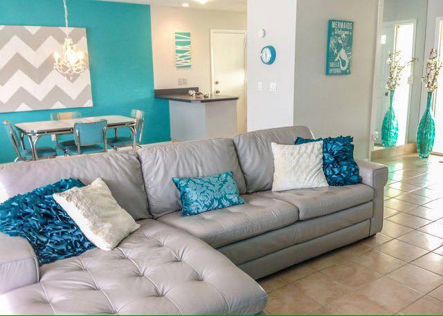 Decoracion para tu hogar en tonos turquesa 9 curso de for Decoracion moderna contemporanea del hogar