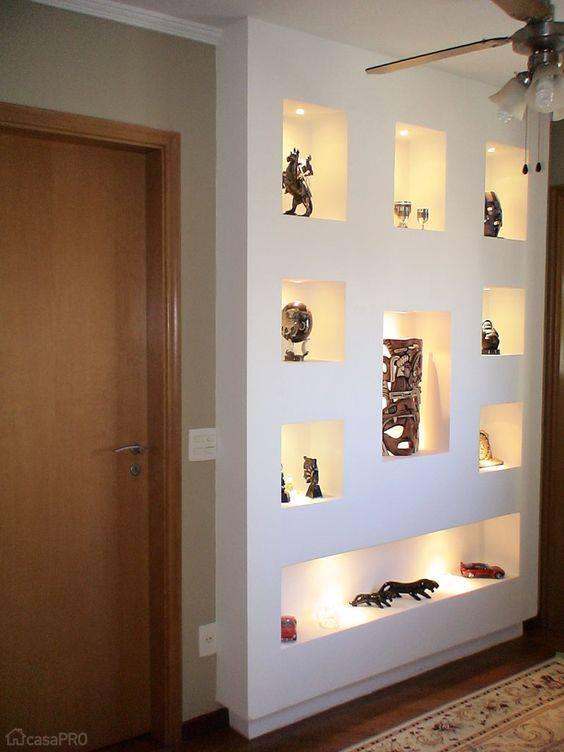 Muebles de tablaroca para tv for Decoraciones para hacer en casa