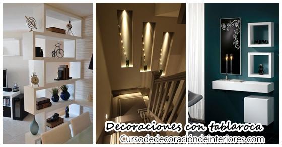 Decoraciones para tu casa que puedes hacer con tabla roca - Trabajos de decoracion de interiores ...