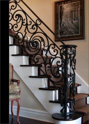 Disenos de escaleras interiores de herreria 13 curso de Escaleras herreria para interiores