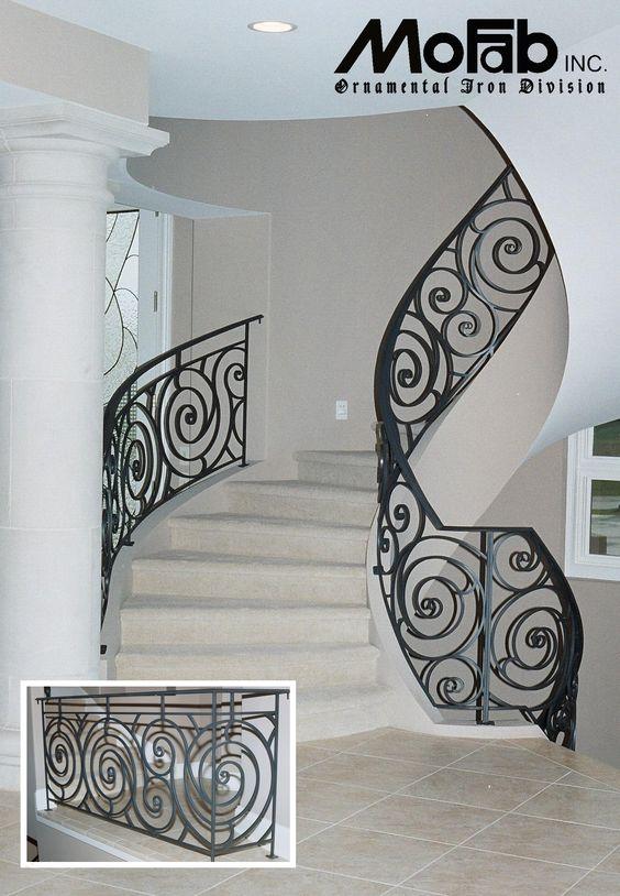 Disenos De Escaleras Interiores De Herreria 14 Curso De