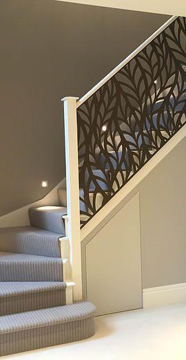 Escaleras Para Interiores De Casa. Interior Escalera Del Hierro De ...