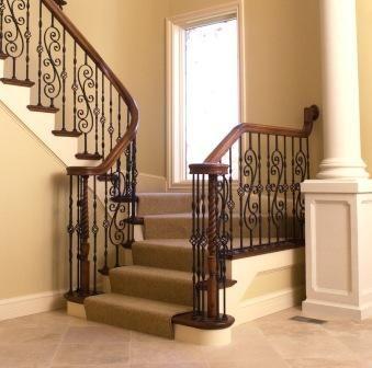 Disenos de escaleras interiores de herreria 5 decoracion - Disenos de escaleras para casas ...