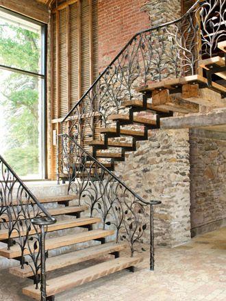 Disenos De Escaleras Interiores De Herreria 8 Decoracion