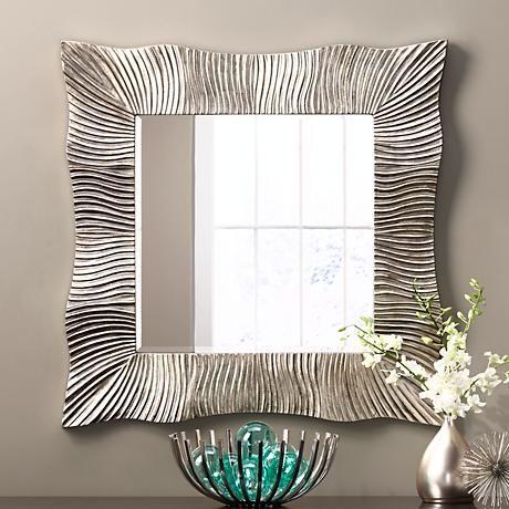 Dise os de espejos que querr s tener para decorar tu casa for Como decorar un espejo cuadrado
