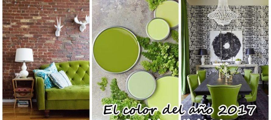 El color del año 2017 en decoración de interiores