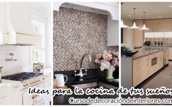 Ideas de decoración para la cocina de tus sueños