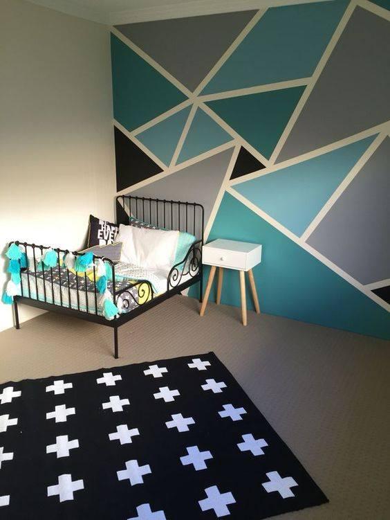 Ideas para pintar las paredes de tu casa con mucho estilo - Plantillas para pintar paredes ikea ...