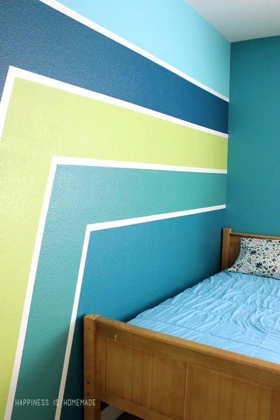 Ideas pintar casa ideas pintar salon cabecero con papel for Ideas para pintar casa interior