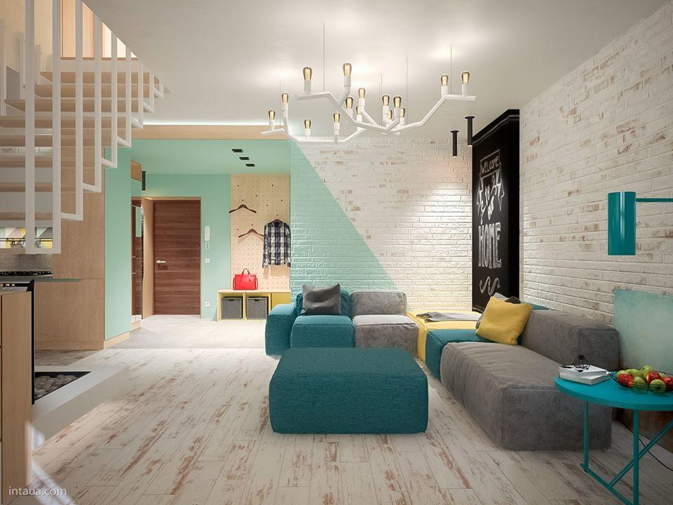 Ideas para pintar las paredes de tu casa con mucho estilo for Ideas para pintar casa interior