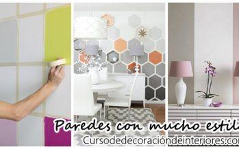 Ideas para pintar las paredes de tu casa con mucho estilo