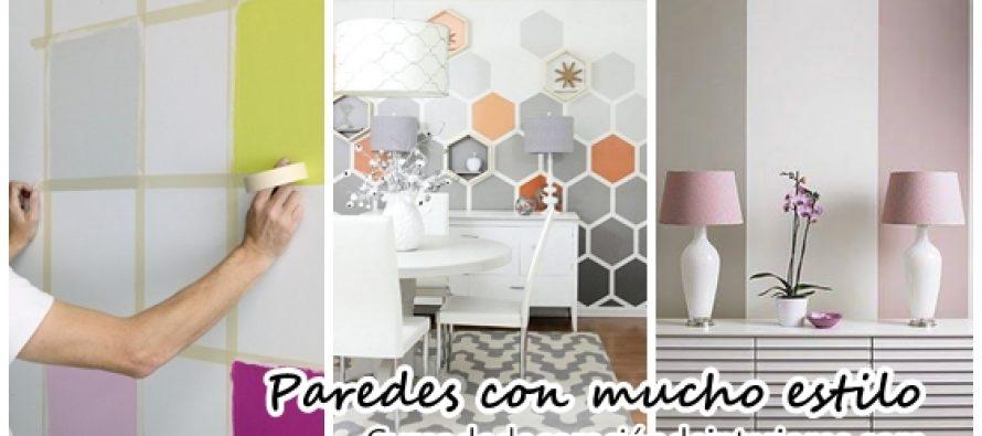Ideas para pintar las paredes de tu casa con mucho estilo decoracion de interiores - Pintar facil paredes ...