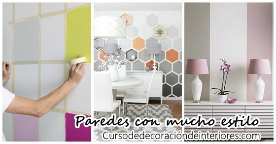 Estilos de pintura para paredes interesting fantasa de - Estilos de pintura para paredes ...