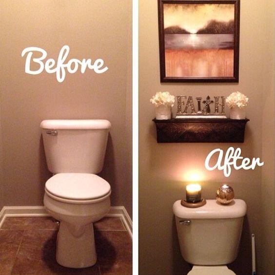Luxury Bathroom Home Bathroom Color Ideas Pinterest Bathroom Color Ideas: Ideas Para Remodelación De Baños Antes Y Después (18)