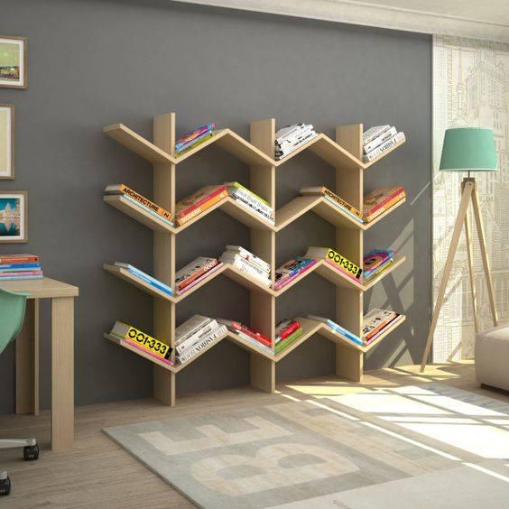 Libreros y repisas con disenos novedosos 3 decoracion de Disenos repisas madera