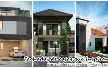 Magnificas fachadas de casas que inspiran