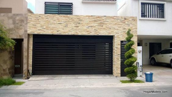Magnificas fachadas de casas que inspiran 3 decoracion - Decoracion de cocheras modernas ...