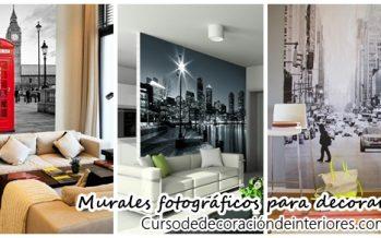 Murales fotograficos para decorar tu hogar