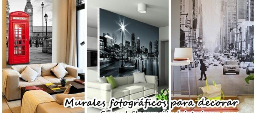 Murales fotograficos para decorar tu hogar decoracion de for Murales para decoracion de interiores