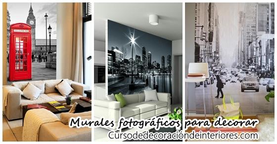 murales fotograficos para decorar tu hogar - Decora Tu Hogar