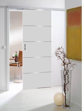 Puertas corredizas para decoraci n de interiores 20 - Puerta corrediza para bano ...
