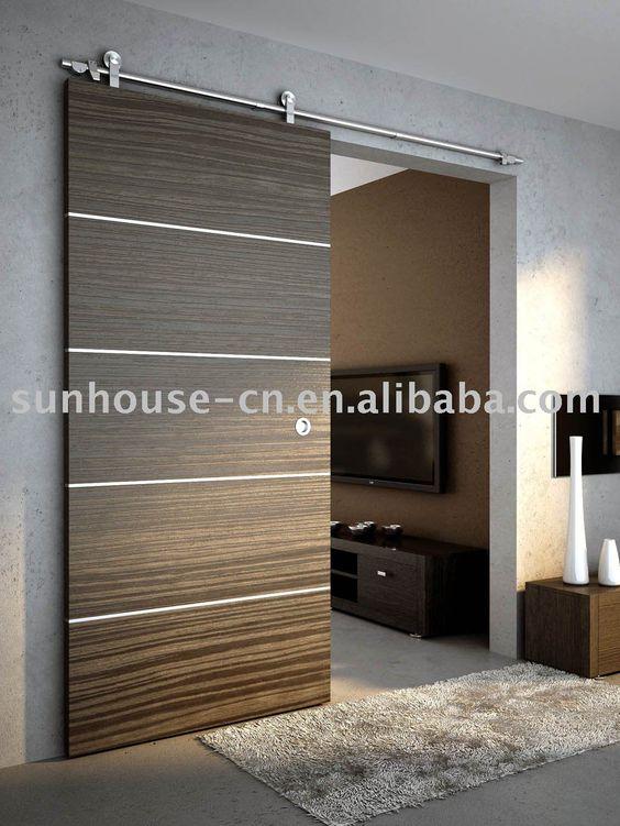 Puertas corredizas para decoraci n de interiores 3 - Decoracion puertas interior ...