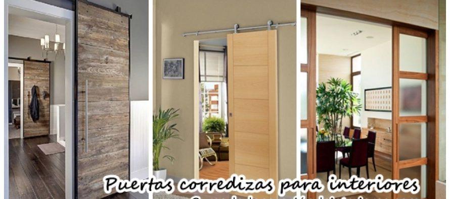 Puertas corredizas para decoraci n de interiores decoracion de interiores interiorismo Decoracion puertas interior