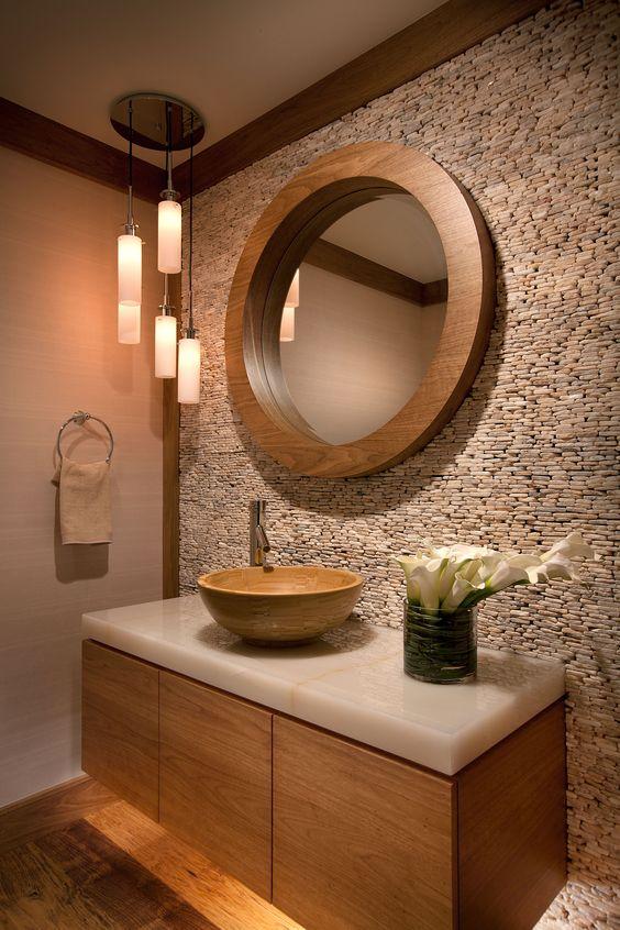 Revestimiento de piedra para interiores 1 decoracion - Revestimiento de interiores ...