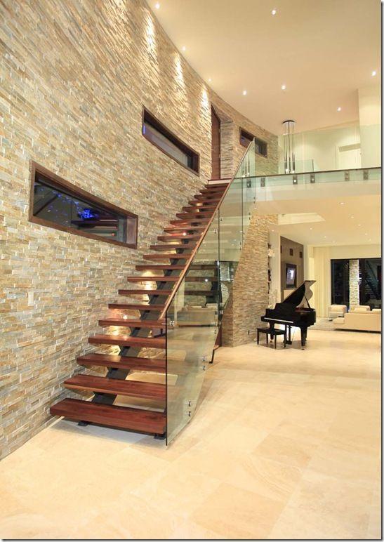 Revestimiento de piedra para interiores 13 decoracion - Piedras para interiores ...