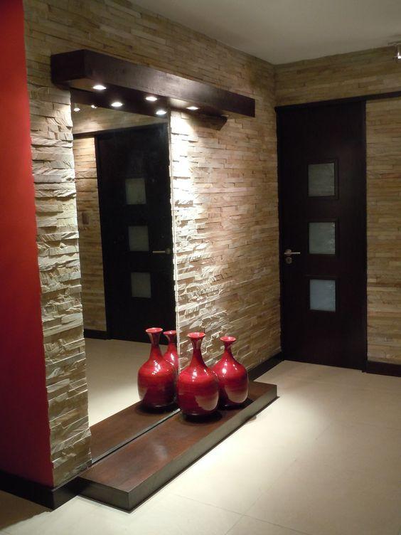 Revestimiento de piedra para interiores 21 decoracion - Revestimientos de piedra interiores ...