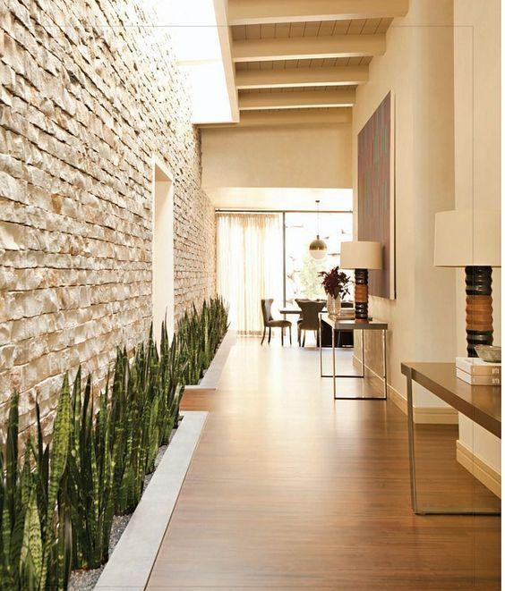 Revestimiento de piedra para interiores 22 decoracion - Revestimiento piedra interior ...