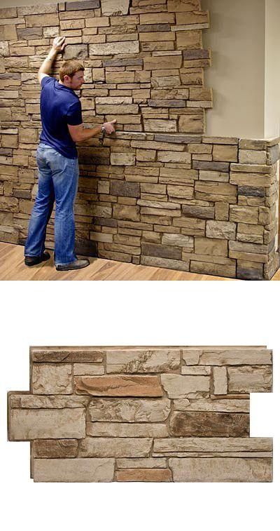 Revestimiento de piedra para interiores 23 decoracion - Panel piedra interior ...