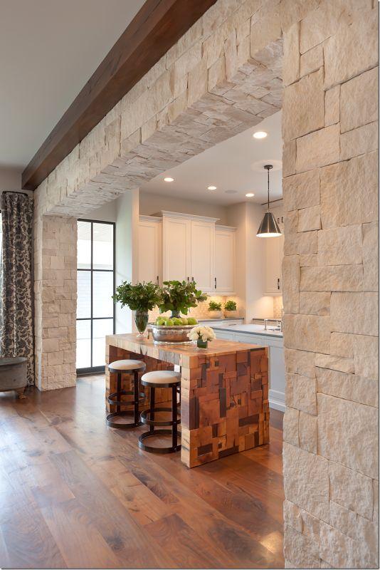 Revestimiento de piedra para interiores 25 decoracion de interiores interiorismo - Piedras para decoracion de interiores ...