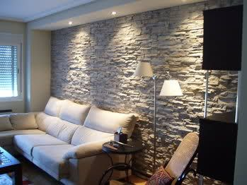 Revestimiento de piedra para interiores 26 decoracion - Piedra de interior ...