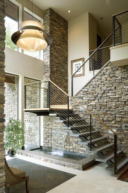 Revestimiento de piedra para interiores 9 curso de decoracion de interiores interiorismo - Revestimiento de piedra para interiores ...