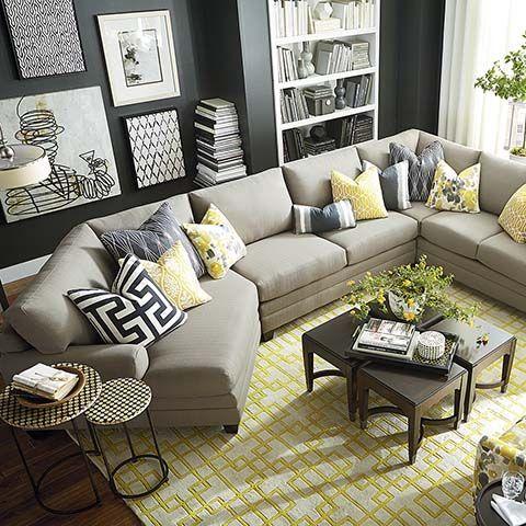 Salas esquineras 21 curso de decoracion de interiores for Salas esquineras