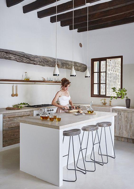 Barrasde tablarocapara cocina