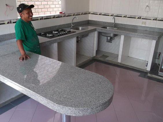 Cocinas grandesde tablaroca