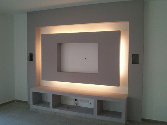 muebles de tablaroca paratv