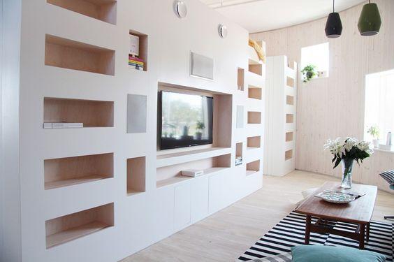 muebles de tablaroca paratv minimalistas (1)