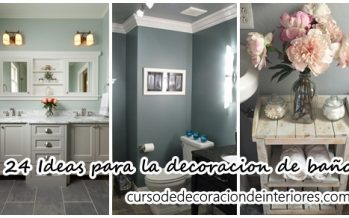 24 Ideas para la decoracion de baños