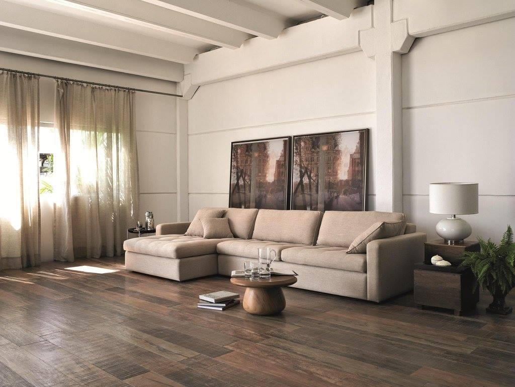 28 ideas para usar imitacion de duela tendencia en pisos for Tendencia en salas 2017