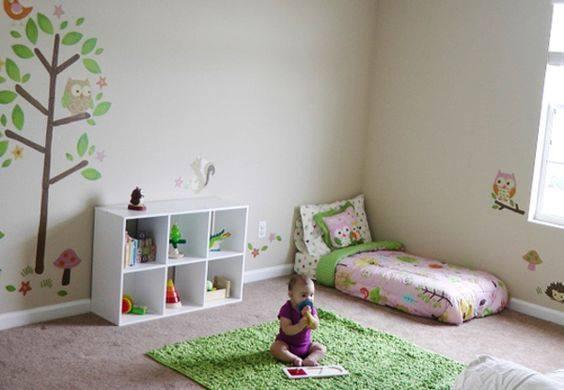 Cuartos montesori para los peque os del hogar 2 for Decoracion del hogar pequeno