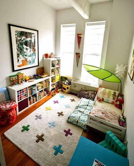 Cuartos montesori para los peque os del hogar 21 for Decoracion del hogar pequeno