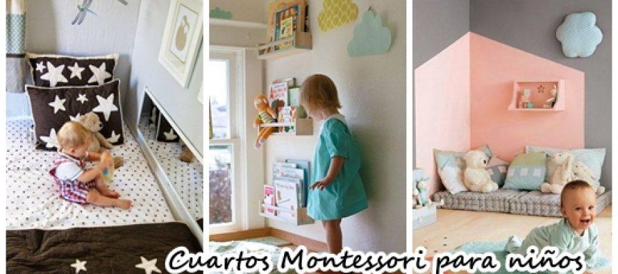 Cuartos montesori para los peque os del hogar decoracion for Decoracion del hogar pequeno