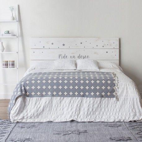 Cabezales originales beautiful decoracin de dormitorios - Cabezales de cama caseros ...