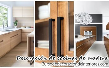 Decoración de cocinas de madera