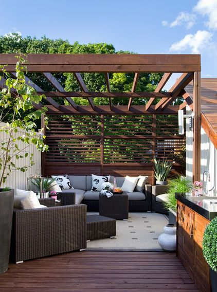 Decoración de terrazas acogedoras (7) – decoracion de interiores ...